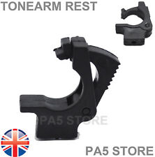 1x Turntable Tonearm Rest Clip Holder - Fits Many Turntable Brands Universal UK