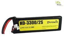 HD-3300 2S Lipo (7,4V) 30C - XT-60 Stecker D-Power HD33002