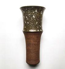 Large Raul Coronel Studio Pottery Vase, 1964 California Modernism Listed Artist
