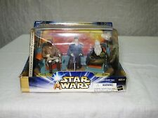Star Wars Jedi High Council Scene 1 Of 2 Action Figure Set, MISB 2003