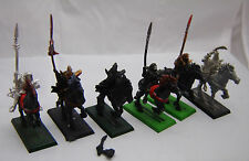 Warhammer Dark Elf  Dark Riders army lot horses have no tail bits