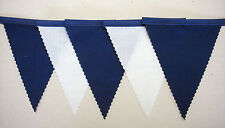 Chelsea fabric football bunting blue & white 2 mt or more decoration Christmas