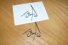 Troy Bayliss Signature Sticker - Blue