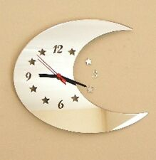 Moon Clock Acrylic Mirror (Several Sizes Available)