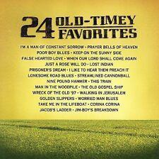 """24 OLD-TIMEY FAVORITES, CD """"NEW SEALED"""