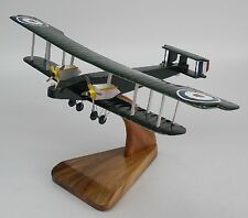 HANDLEY PAGE 0-400 WWI 0400 Airplane Desktop Wood Model Big New