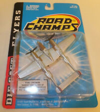 "Road Champs Die Cast Flyers P-38J Lightning ""Marge"" Airplane New 1997"