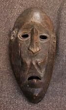 "Antique West Timor Shaman's Mask, Atoni Culture 8 3/4"" x 4 1/8"""