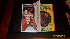 Giallo Mondadori nr.193 IL TRENO IMPAZZITO di L. Delluc (1941) RARO