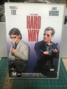 The Hard Way DVD, region 4, VGC - Michael J. Fox - James Woods