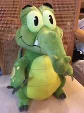 "Disney Parks 13"" Plush Where's My Water Swampy Crocodile Soft & Cuddly"