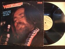 WILLIE NELSON - What Can You Do to Me Now - 1975 Vinyl 12'' Lp./ VG+/ Country