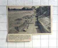 1935 First Century A.d. Temple Discovered Excavations Sheepen Farm, Colchester