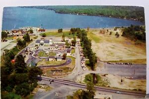New York NY Lake George Gas Light Village Postcard Old Vintage Card View Post PC