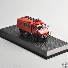 New Altas Models 1/72 Mercedes-Benz Unimog Fire Truck Alloy Diecast Car Model