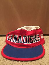 Montreal Canadiens Painters Cap Vtg Fletchers Official NHL Licensed Hat