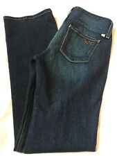 "FREEDOM OF CHOICE Organic Cotton Boot Cut JEANS Size 6 34"" Inseam  EUC (L29)"