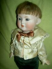 Antique German bisque, BAHR & PROSCHILD MOLD 585 char. Toddler doll CLOSED mouth
