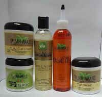 Taliah Waajid Curls, Waves & Naturals Hair Products