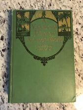 """1915 Antique Travel Book """"A Vagabond Journey Around the World"""""""