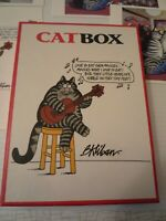Vintage Kliban the Cat Box of 3 Different Cards 15 total 1999