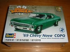 2011 REVELL Model REVELL MUSCLE: '69 CHEVY NOVA COPO Kit #85-4274