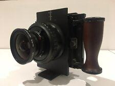 Gaoersi 4x5 Range Finder Field Camera Schneider Kreuznach Super Angulon 75/f5.6
