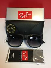 Ray-Ban Sunglasses Justin 4165 601/8G Classic Matte Black 54mm XMas Offer