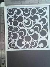 Circle Spot Stencil Scrapbooking Card Making Airbrush Painting Home Decor Art