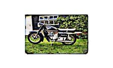 Cossack Voskhod Motorbike A4 photo Retro Bike