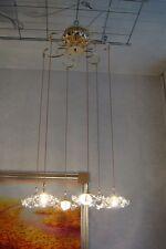 Wertvolle Kristall Hängelampe Hängeleuchter Designlampe Kronenlampe Ø50cm