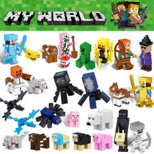 Minecraft My World Series Characters Mini Figures Building Blocks Fit Lego Toy