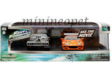 GREENLIGHT 86250 FAST & FURIOUS 1970 DODGE CHARGER & 1995 TOYOTA SUPRA 1/43 SET
