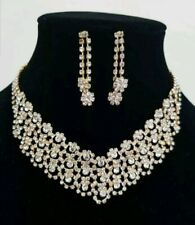 Gold & silver necklace Set Wedding and party wearUk seller
