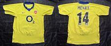 Thierry Henry ARSENAL LONDON GUNNERS Shirt NIKE 2003/05 SIZE XL.Boys (XS adults)