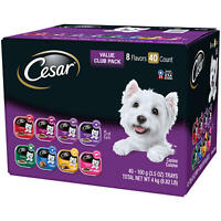Cesar Canine Cuisine Wet Dog Food, Variety Pack (3.5 oz, 40 ct.) FREE SHIPPING