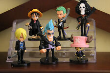 Luffy Chopper Zoro Action Figures Set of 6pcs