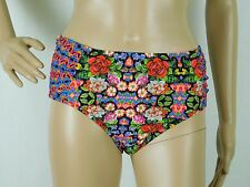 NWT Jessica Simpson Size Small High Waist Hipster Bottom Only Floral Swimsuit