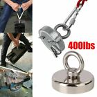 400LB Fishing Magnet Kit Strong Neodymium Pull Force Treasure Hunt N52 Salvage