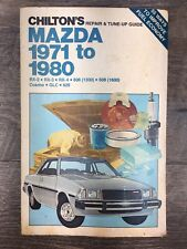 Ford Pinto Bobcat 1971 to 1980 Chilton's Repair Tune Up Manual