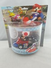 Super Mario Toad Pull Back Racer Mario Kart Wii New Sealed Nintendo