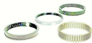 """Piston Rings CLEVITE 40009.060 (SET OF 7, DISCOUNT) .060""""+ For ford 260 (2C571)"""