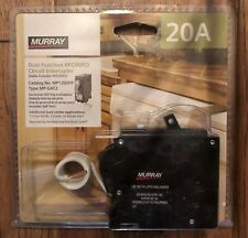 Murray 20Amp Dual Function AFCI/GFCI Circuit Interrupter.