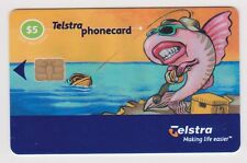 (K70-74) 2003 AU $5 Telstra used phone card (BX)