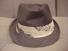 a13c79f34ef The Moretti Goorin Brothers Fedora Hat Charcoal Size Large 23