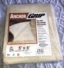 """NEW Anchor Grip Non-Skid Rug Cushion Pad 58"""" x 90"""" fits rugs up to 5' x 8' - USA"""