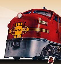 6-38312 CONVENTIONAL CLASSIC #2343 SANTA FE F3 DIESEL A-A Lionel