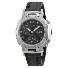 Tissot T-Race Chronograph Black Rubber Strap Ladies Watch T0482171705700