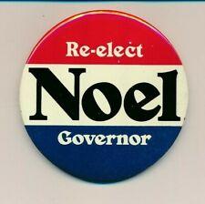 "1974 Philip Noel for governor 3"" litho Rhode Island RI campaign button"