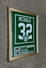 Boston Celtics Kevin McHale 8x10 framed Jersey photo Green X